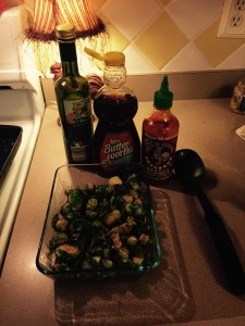 Roasted Sweet Sriracha Brussel Sprouts