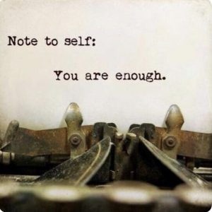 Note to self….
