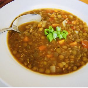 Tasty Tuesday Lentil Soup